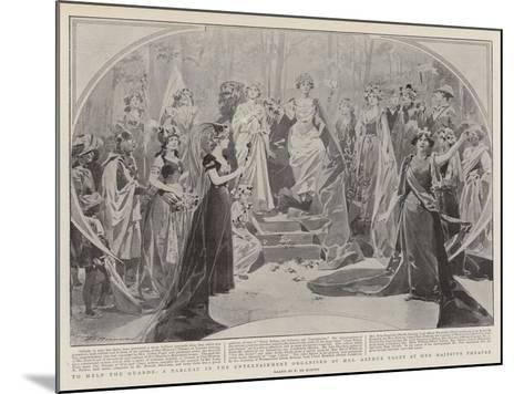 To Help the Guards-Frederic De Haenen-Mounted Giclee Print