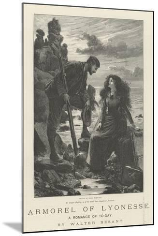Armorel of Lyonesse, a Romance of To-Day-Frederick Barnard-Mounted Giclee Print