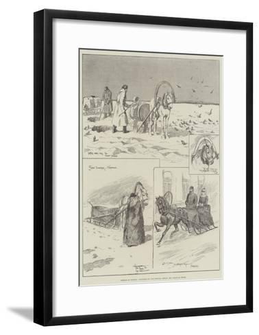 Siberia in Winter-Frederick Pegram-Framed Art Print