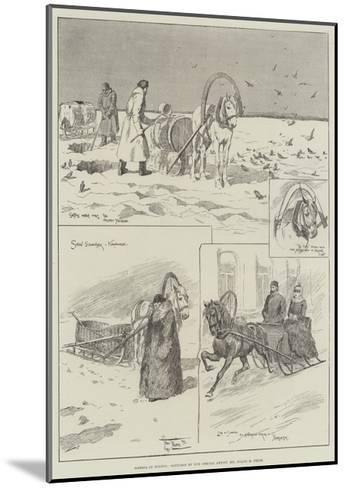 Siberia in Winter-Frederick Pegram-Mounted Giclee Print