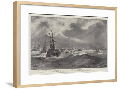The Emperor of Russia's Visit to France-Fred T. Jane-Framed Art Print