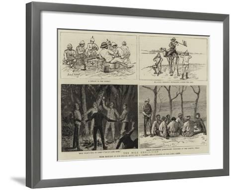 The Nile Expedition-Frederic Villiers-Framed Art Print