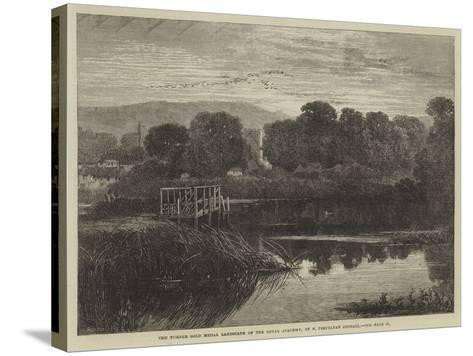 The Turner Gold Medal Landscape of the Royal Academy-Frederick Trevelyan Goodall-Stretched Canvas Print