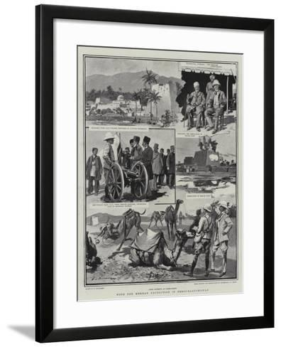 With the Mekran Expedition in Perso-Baluchistan-Frederic De Haenen-Framed Art Print