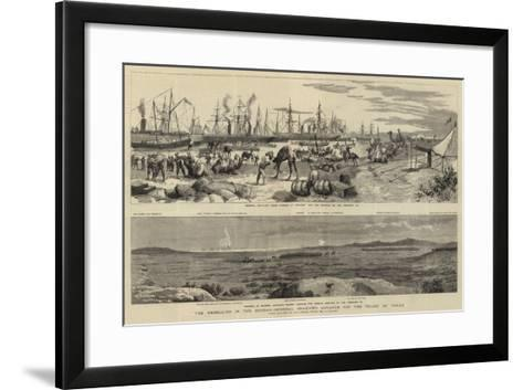 The Rebellion in the Soudan, General Graham's Advance for the Relief of Tokar-Frederic Villiers-Framed Art Print