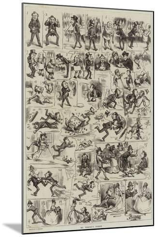 Mr Titbury's Turkey-Frederick Barnard-Mounted Giclee Print