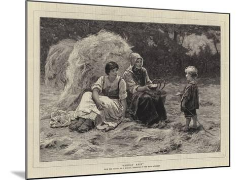 Midday Rest-Frederick Morgan-Mounted Giclee Print