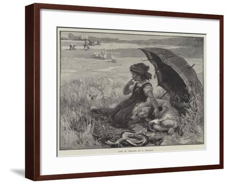 Left in Charge-Frederick Morgan-Framed Art Print