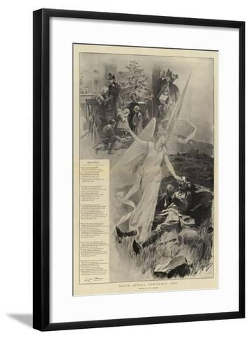 South Africa, Christmas, 1899-Frederic De Haenen-Framed Art Print