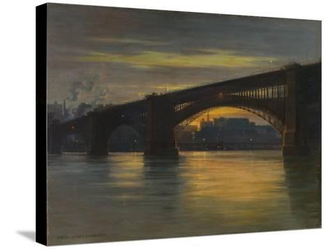 The Bridge, 1903-Frederick Oakes Sylvester-Stretched Canvas Print