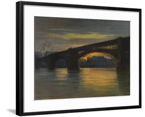 The Bridge, 1903-Frederick Oakes Sylvester-Framed Art Print
