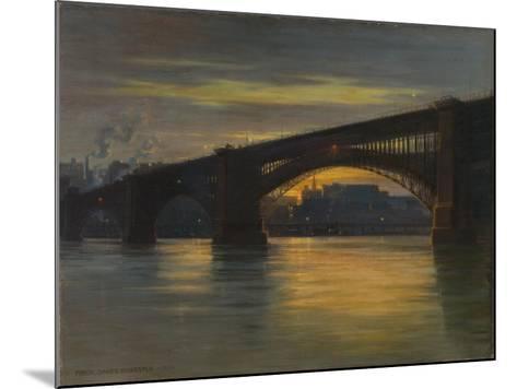 The Bridge, 1903-Frederick Oakes Sylvester-Mounted Giclee Print
