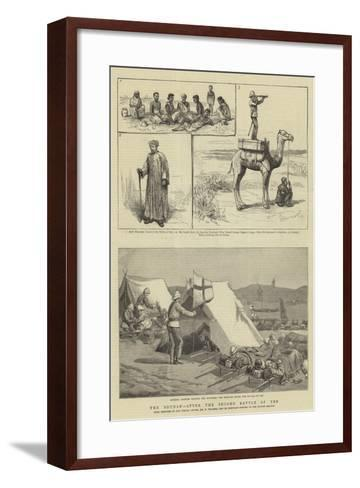 The Soudan, after the Second Battle of Teb-Frederic Villiers-Framed Art Print