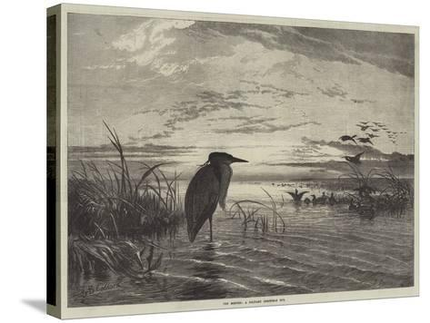 The Months, a Solitary Christmas Eve-George Bouverie Goddard-Stretched Canvas Print