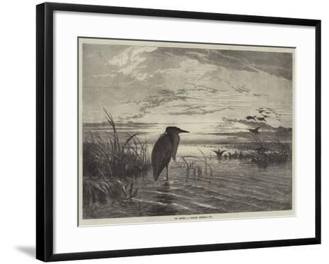 The Months, a Solitary Christmas Eve-George Bouverie Goddard-Framed Art Print