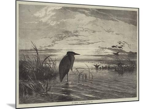 The Months, a Solitary Christmas Eve-George Bouverie Goddard-Mounted Giclee Print
