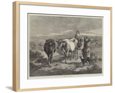 Morning on the Moors-George Bouverie Goddard-Framed Art Print
