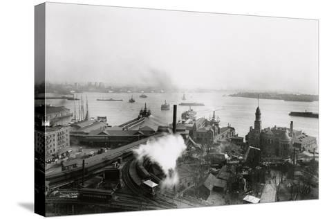 South Ferry Terminal, 1905-G.P. & Son Hall-Stretched Canvas Print