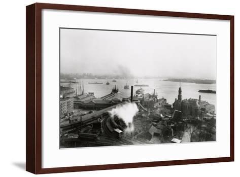 South Ferry Terminal, 1905-G.P. & Son Hall-Framed Art Print