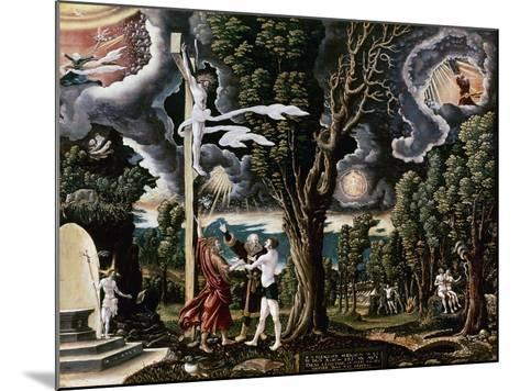 The Fall into Sin and the Redemption of Mankind-Georg Lemberger-Mounted Giclee Print