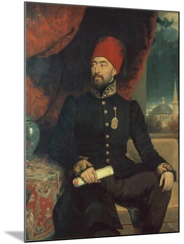 Portrait of a Dignitary in Turkish Costume-George Dawe-Mounted Giclee Print