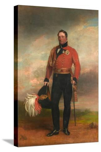 Lieutenant-General Rowland, Lord Hill, C.1819-George Dawe-Stretched Canvas Print
