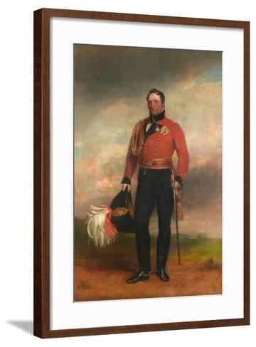 Lieutenant-General Rowland, Lord Hill, C.1819-George Dawe-Framed Art Print