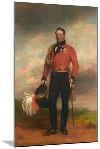 Lieutenant-General Rowland, Lord Hill, C.1819-George Dawe-Mounted Giclee Print
