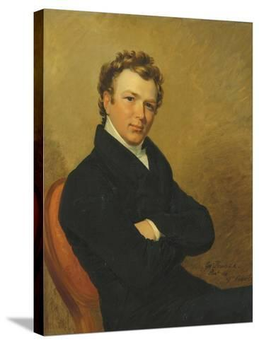 Portrait of a Young Gentleman, 1819-George Dawe-Stretched Canvas Print