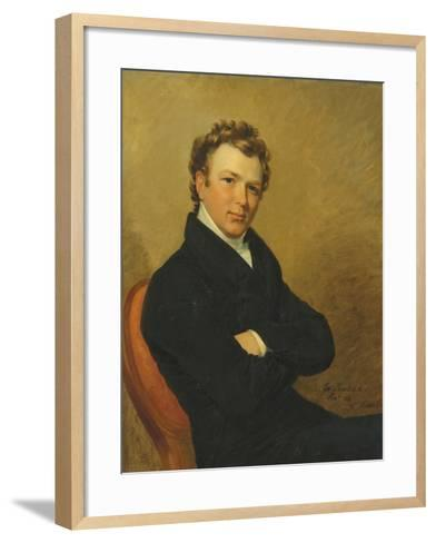 Portrait of a Young Gentleman, 1819-George Dawe-Framed Art Print