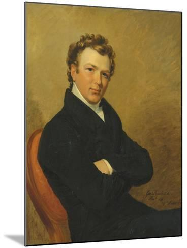 Portrait of a Young Gentleman, 1819-George Dawe-Mounted Giclee Print