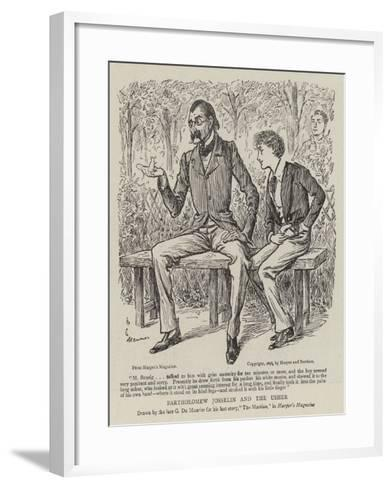 Bartholomew Josselin and the Usher-George Du Maurier-Framed Art Print