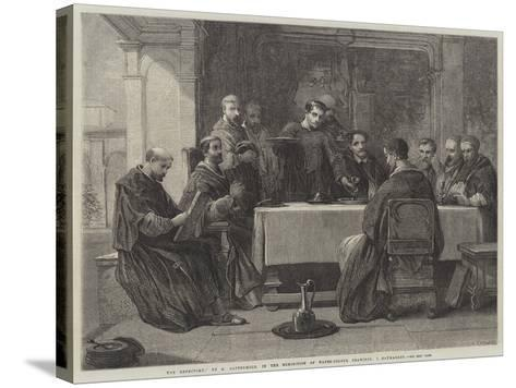 The Refectory-George Cattermole-Stretched Canvas Print