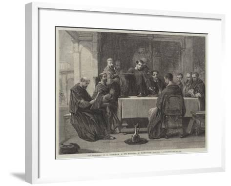 The Refectory-George Cattermole-Framed Art Print
