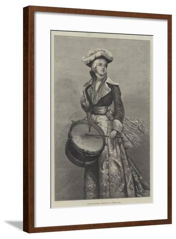 Follow the Drum-George Adolphus Storey-Framed Art Print