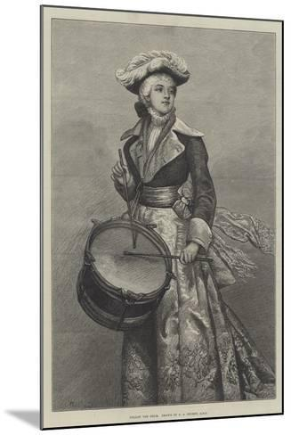 Follow the Drum-George Adolphus Storey-Mounted Giclee Print