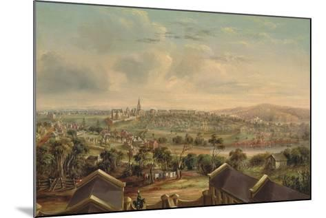 Sydney from Woolloomooloo, 1849-George Edward Peacock-Mounted Giclee Print