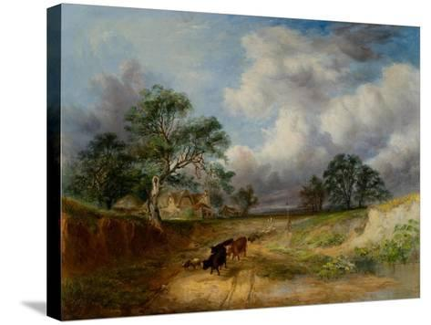 Landscape-George Cole-Stretched Canvas Print