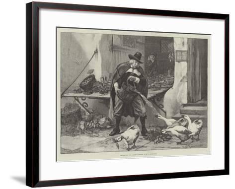 Sauce for the Goose-George Edward Robertson-Framed Art Print