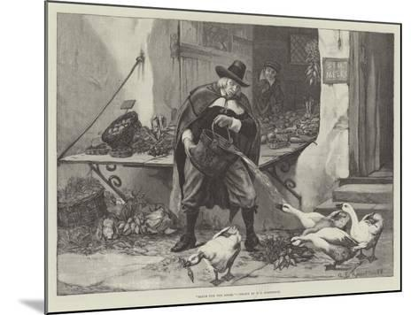 Sauce for the Goose-George Edward Robertson-Mounted Giclee Print