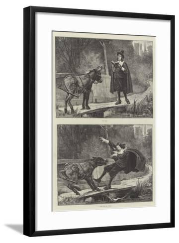 So Far, and Yet So Near-George Edward Robertson-Framed Art Print