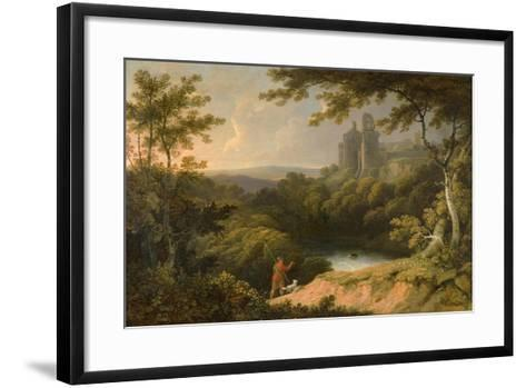 Ruins of Rosslyn Castle, Midlothian, 1810-George Arnald-Framed Art Print