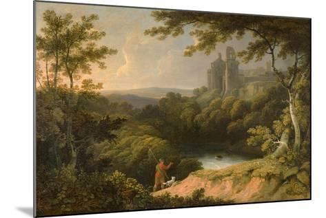Ruins of Rosslyn Castle, Midlothian, 1810-George Arnald-Mounted Giclee Print