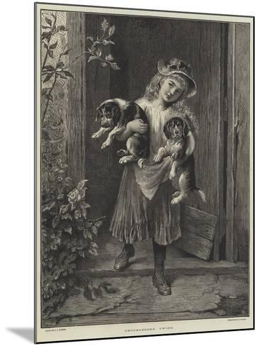 Troublesome Twins-George Augustus Holmes-Mounted Giclee Print