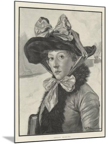 Sunday Morning-George Edward Robertson-Mounted Giclee Print