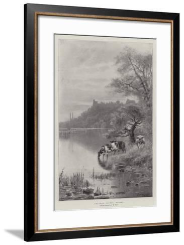 Arundel Castle, Sussex-Frederick William Hayes-Framed Art Print