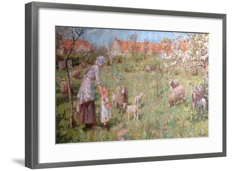 In the Springtime-Frederick William Jackson-Framed Art Print