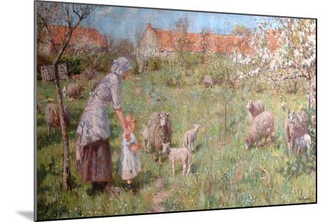 In the Springtime-Frederick William Jackson-Mounted Giclee Print