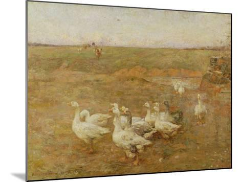 Golden Evening, 1897-Frederick William Jackson-Mounted Giclee Print