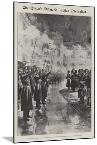 The Queen's Diamond Jubilee Celebration-G.S. Amato-Mounted Giclee Print